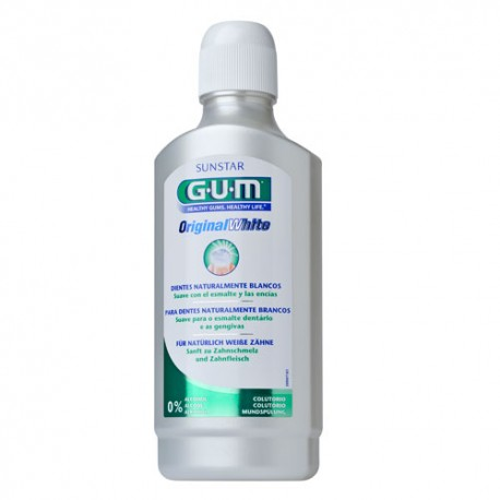 Gum Original White Colutorio 500ml