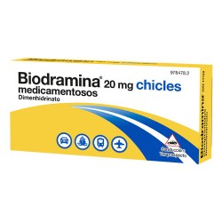 Comprar Biodramina 20 mg 6 Chicles