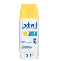 Comprar Ladival Sport Spray Transparente SPF50 150ml