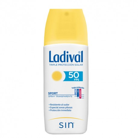 Ladival Sport Spray Transparente SPF50+ 150ml
