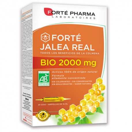 Forté Pharma Forté Jalea Real 2000mg 20 ampollas