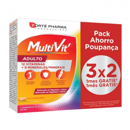 Forte Pharma Energy Multivit Adulto 84 comprimidos