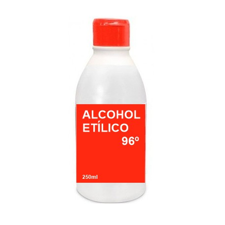 Alcohol Etílico 96º Antiséptico Cutaneo 250ml