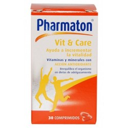 Pharmaton Vit and Care 30 Comprimidos