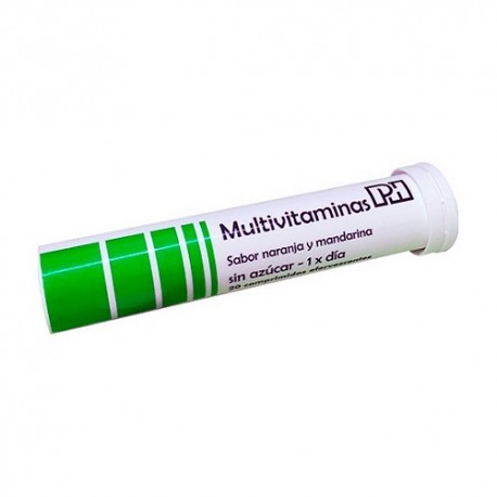 PH Multivitaminas 20 Comprimidos Efervescentes