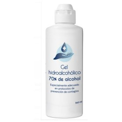 Comprar Disop Gel Hidroalcohólico 70% Alcohol  360ml