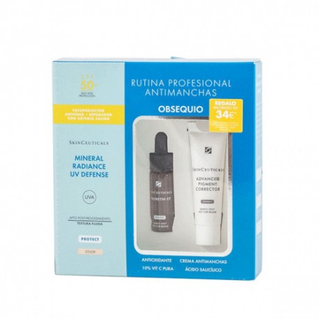 Skinceuticals Mineral Radiance UV Defense Color SPF50+ 50ml + Rutina Antimanchas