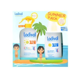 Comprar Ladival Summer Pack Niños 200ml+ Spray Piel Sensible 150ml SPF50+