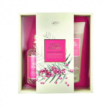 Nº 4711 Agua de Colonia Pimienta Rosa y Pomelo 170ml + Aroma Shower Gel Bambú 200ml