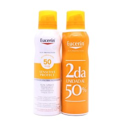 Eucerin Sun Protection Sensitive Spray SPF50 2x200ml.