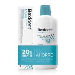 Bexident Encías Pack Colutorio 500ml + Pasta dentrífrica 125ml