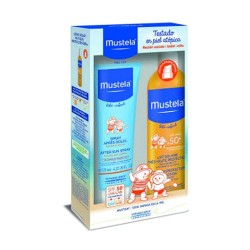 Mustela Pack Protección Leche Solar 300ml + Aftersun 125ml