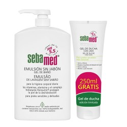 Sebamed Pack Emulsión Sin Jabón1l + Gel de ducha 250ml