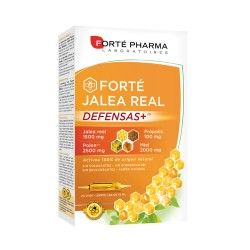 Comprar Forte Pharma Jalea Real 2000mg Defensas 20 Ampollas