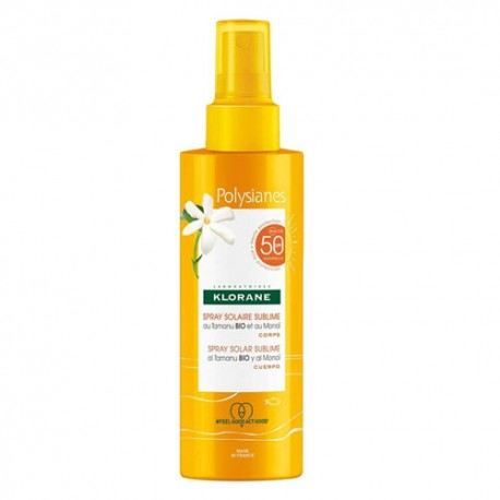 Klorane Polysianes Spray Solar Sublime SPF50 200ml