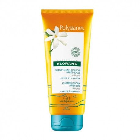 Klorane Polysianes Champú Ducha After Sun 200ml