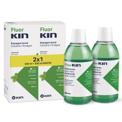 Comprar Fluorkin Enjuague Anticaries Duplo 2x500ml