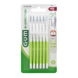 Comprar Gum Bi-Direction Interdental 6 Unidades