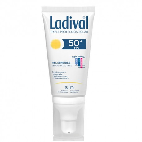 Ladival Piel Sensible SPF50+ Gel Facial 50ml