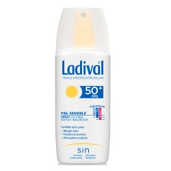 Comprar Ladival Piel Sensible y Alérgica SPF 50 Gel Spray 150ml