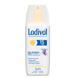 Comprar Ladival Piel Sensible Alérgica SPF15 Gel Spray 150ml