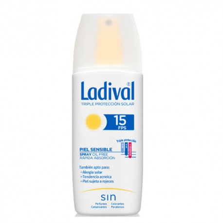 Ladival Piel Sensible Alérgica SPF15 Gel Spray 150ml