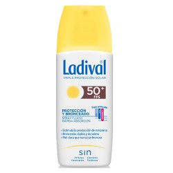 Ladival Protección y Bronceado Spray SPF50+ 150ML