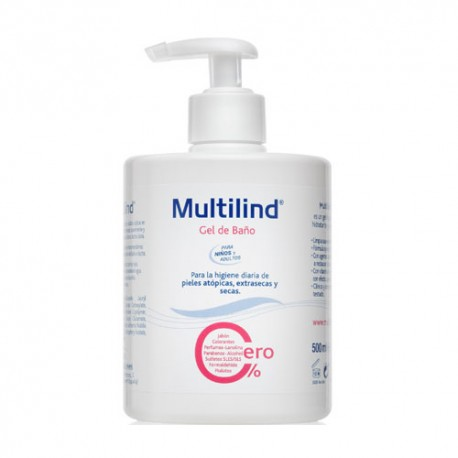 Multilind Gel de Baño Hipoalergénico 500ml