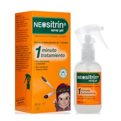 Comprar Neositrín 100% Spray Antipiojos Gel Líquido 100 ml