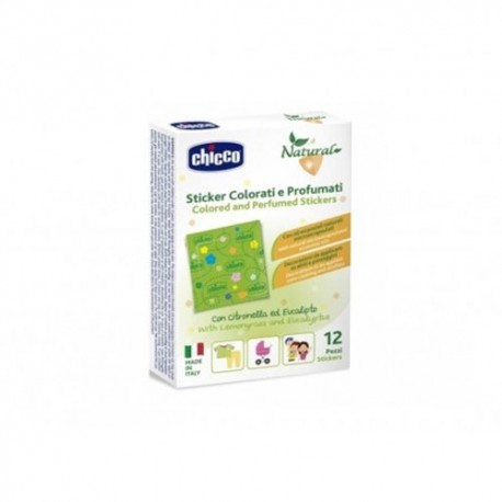 Chicco Parches protectores Anti-mosquitos 12 Unidades