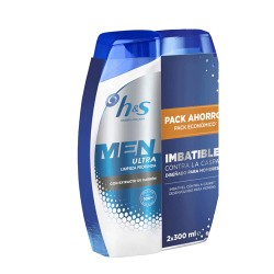 H&S Men Champú Ultra Carbón 2x300ml
