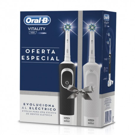 Oral B Pack Duplo Cepillo Eléctrico Vitality