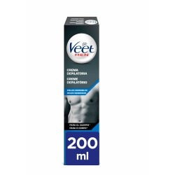 Veet Men Gel Crema Depilatoria Pieles Sensibles 200 ml