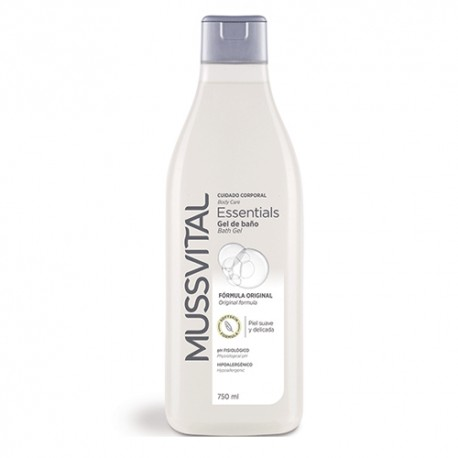 Mussvital Essentials Gel de Baño Original 750ml