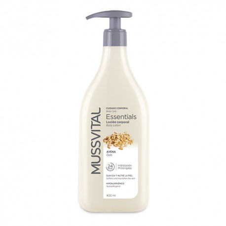 Mussvital Essentials Body Milk Avena Pieles Secas 400ml
