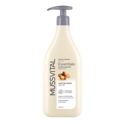 Comprar Mussvital Essentials Body Milk Aceite de Argán 400ml