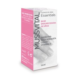 Comprar Mussvital Base Endurecedora de Uñas 14ml