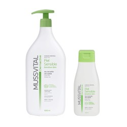 Comprar Mussvital Dermactive Loción Piel Sensible 1000ml + Regalo Gel 100ml