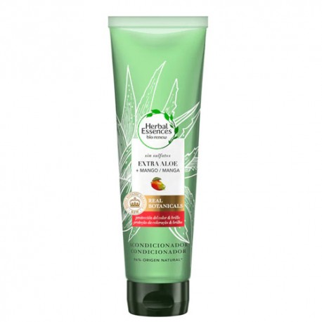 Herbal Essences Acondicionador Real Botanic Aloe y Mango 275ml