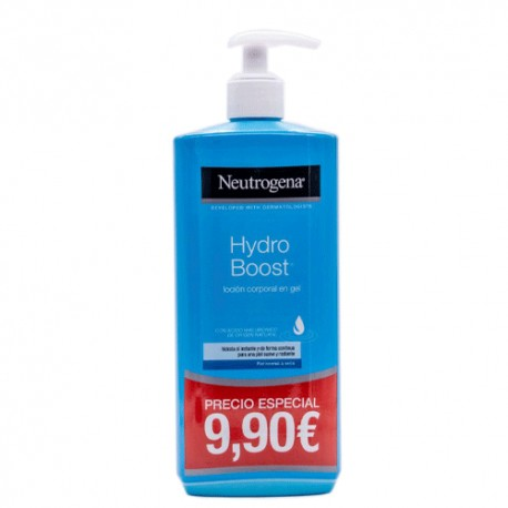 Neutrogena Hydro Boost Locion Corporal En Gel Piel Normal 400ml.