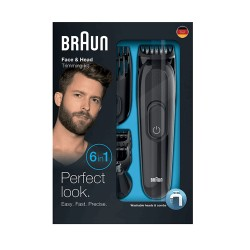 Braun Face&Head Kit Recortador 6en1 MGK3020