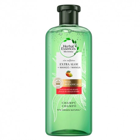 Herbal Essences Real Botanic Champú Aloe y Mango 380ml