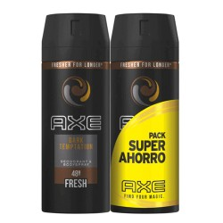 Axe Pack Duplo Ahorro Desodorante Dark Temptation 2x150ml