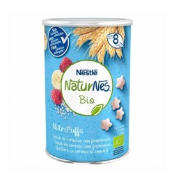 Comprar Nestlé Naturnes Bio Nutripuffs Snack Cereales con Frambuesa 35gr