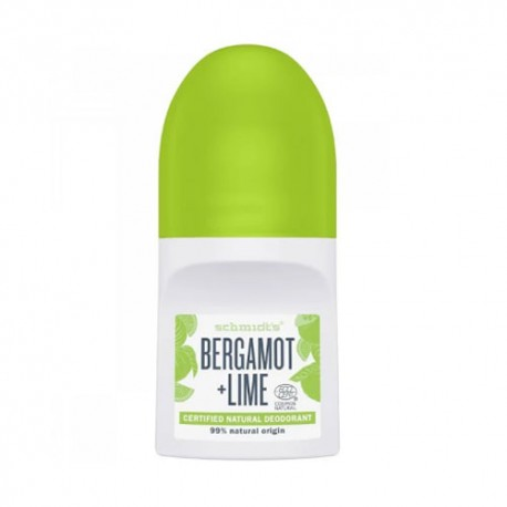 Schmidt's Desodorante Roll On Bergamota y Lima 50ml