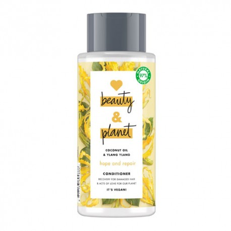 Love Beauty And Planet Hope & Repair Acondicionador Aceite de Coco & Ylang Ylang 400ml