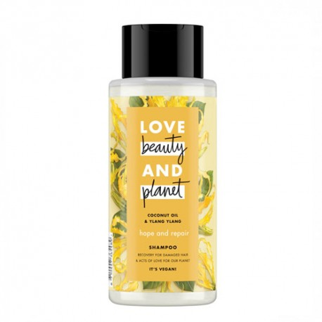Love Beauty And Planet Hope & Repair Champú Aceite de Coco & Ylang Ylang 400ml