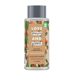 Comprar Love Beauty And Planet Champú Manteca de Karité y Sándalo 400ml