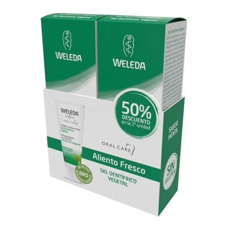 Weleda Duplo Gel Dentífrico Vegetal 2x75ml