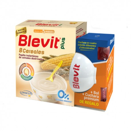 Blevit Plus 8 Cereales 600g + Regalo